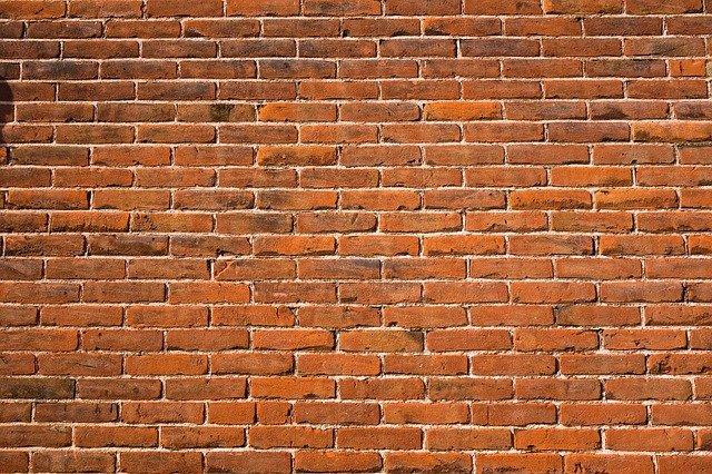 scheuren in muur